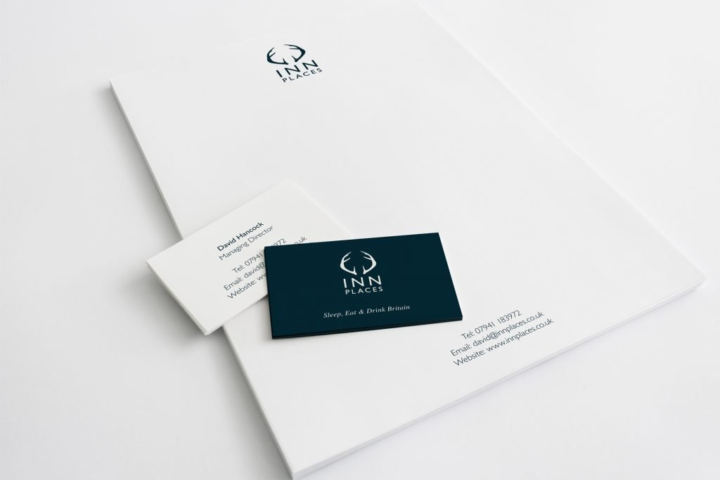 inn places printed stationery