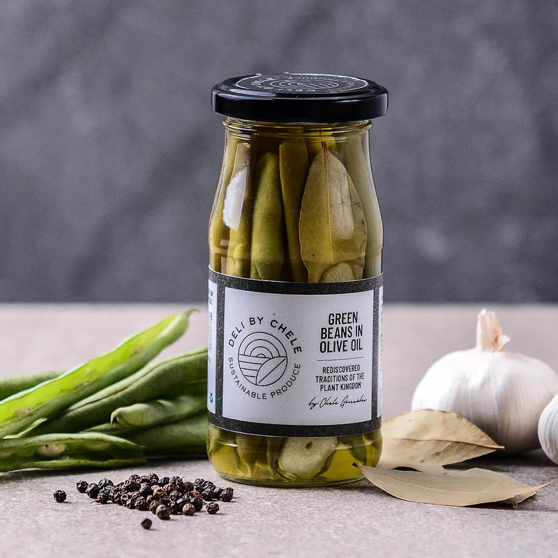 Deli by Chele pickles packaging